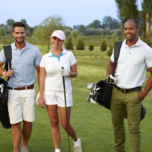 Golfseminar-Gruppe